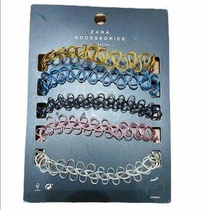 Zara 5 Set Choker Necklace